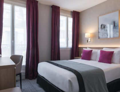 Chambre classique - hôtel magda champs-élysées (3)