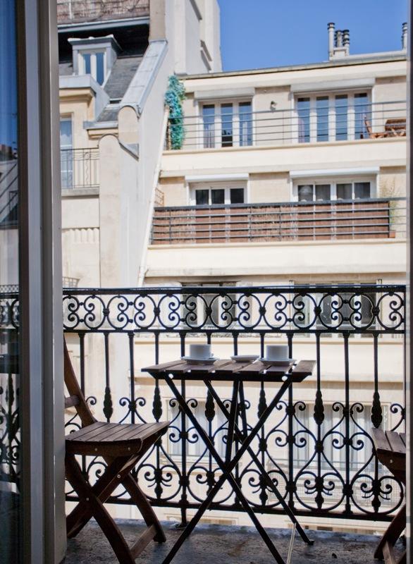 Balcon - Hôtel magda champs-élysées