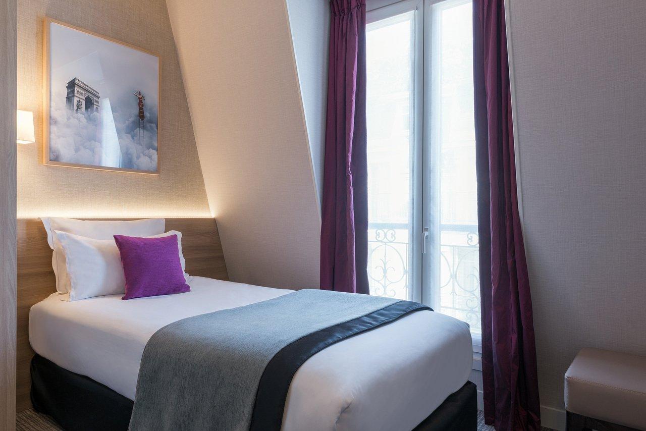 chambre solo 1- hôtel magda champs-élysées